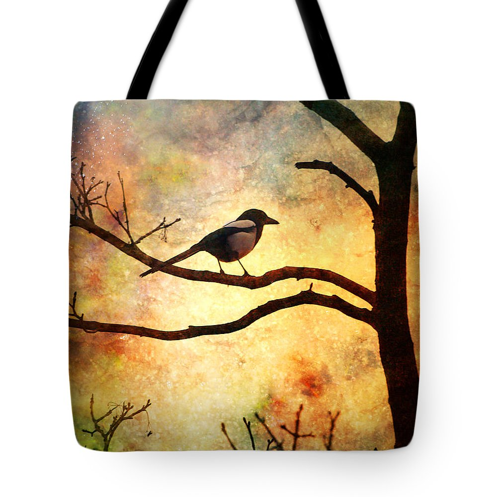 Bird Tote Bag featuring the photograph Believing In The Morning by Tara Turner