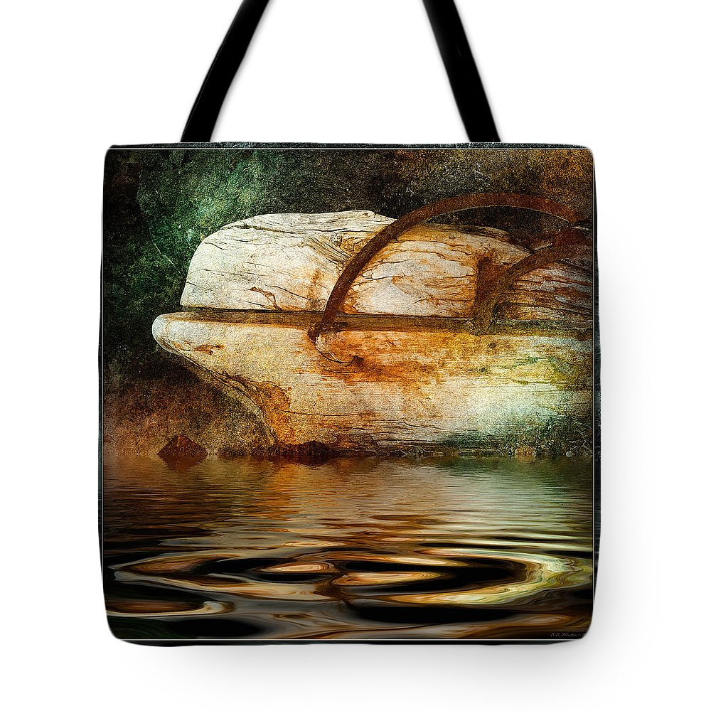 Driftwood Tote Bag featuring the photograph Beluga by WB Johnston