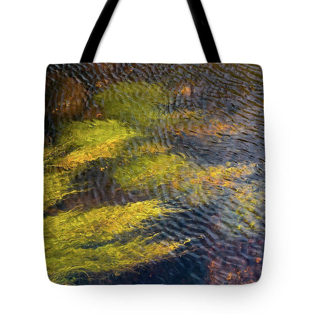 Donegal Tote Bag featuring the photograph Beneath The Water by Shawn Williams