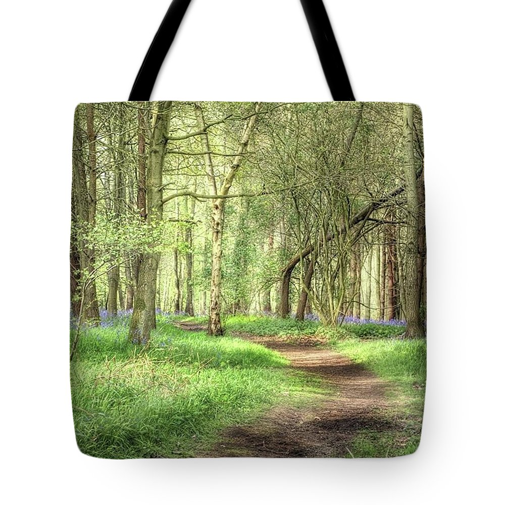 Nature Tote Bag featuring the photograph Bentley Woods, Warwickshire #landscape by John Edwards