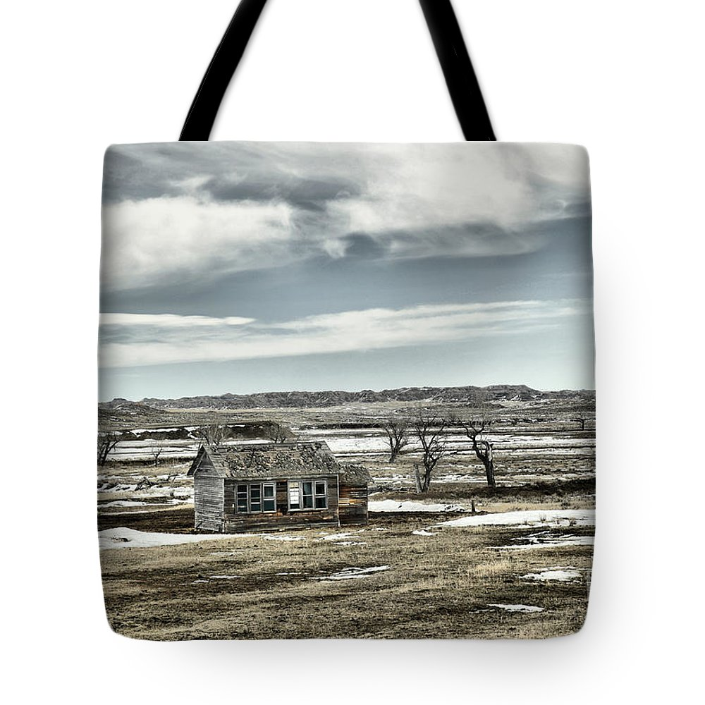 Desolate Tote Bag featuring the photograph Bereft In The Desolation by Jeff Swan