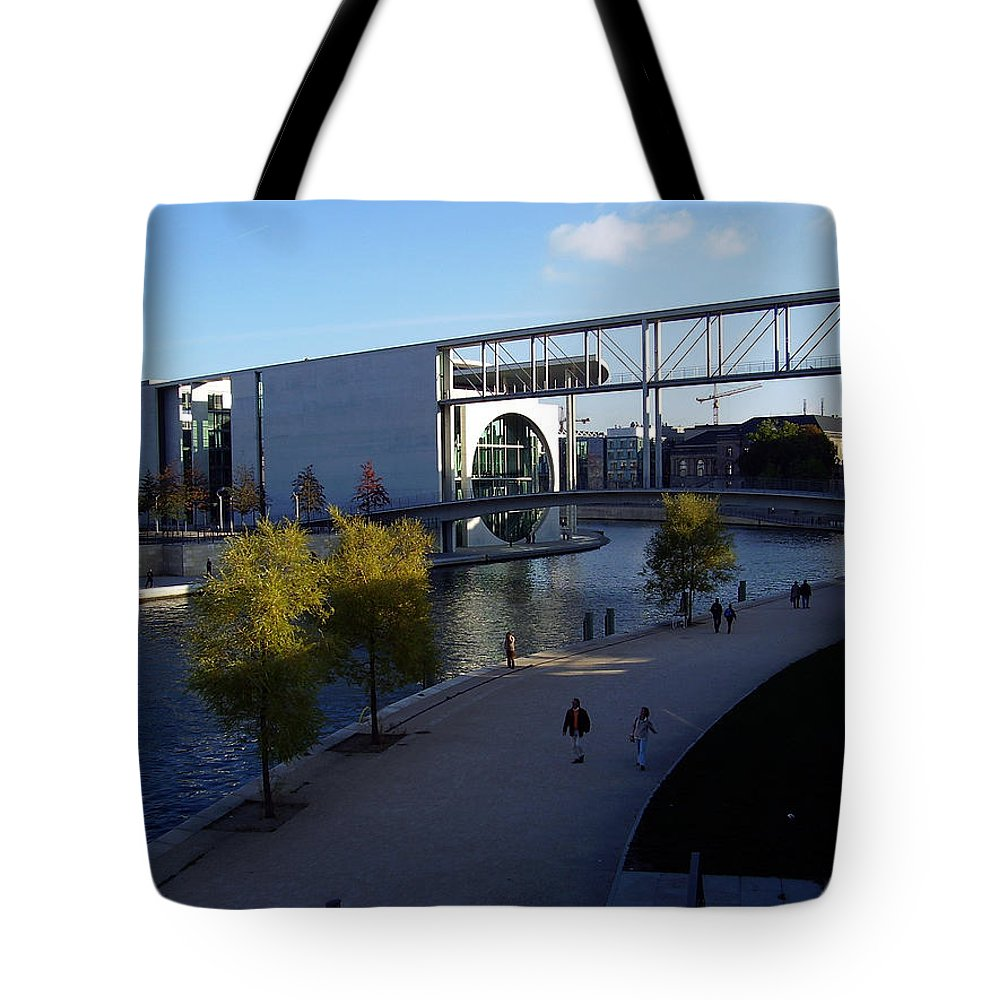 Paul-loebe Tote Bag featuring the photograph Berlin II by Flavia Westerwelle