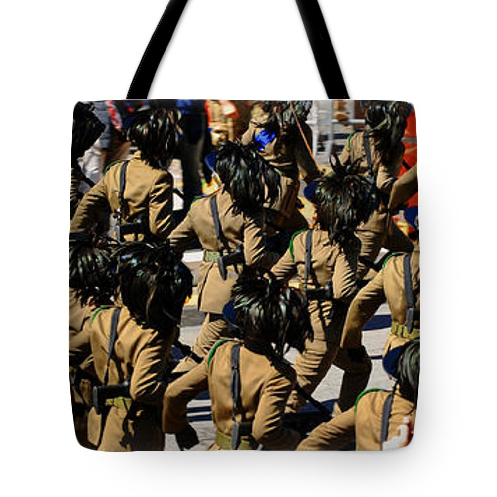 Rome Tote Bag featuring the photograph Bersaglieri - Italian Army by Stefano Senise
