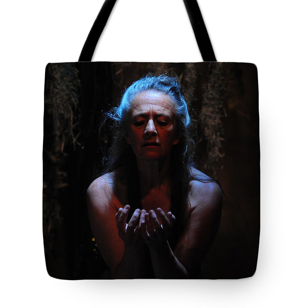 Beseech Tote Bag featuring the photograph Beseeching by Scott Sawyer