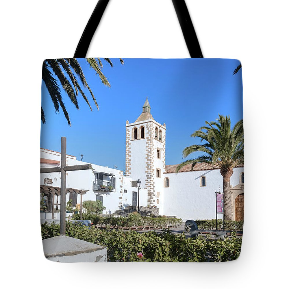 Betancuria Tote Bag featuring the photograph Betancuria - Fuerteventura by Joana Kruse