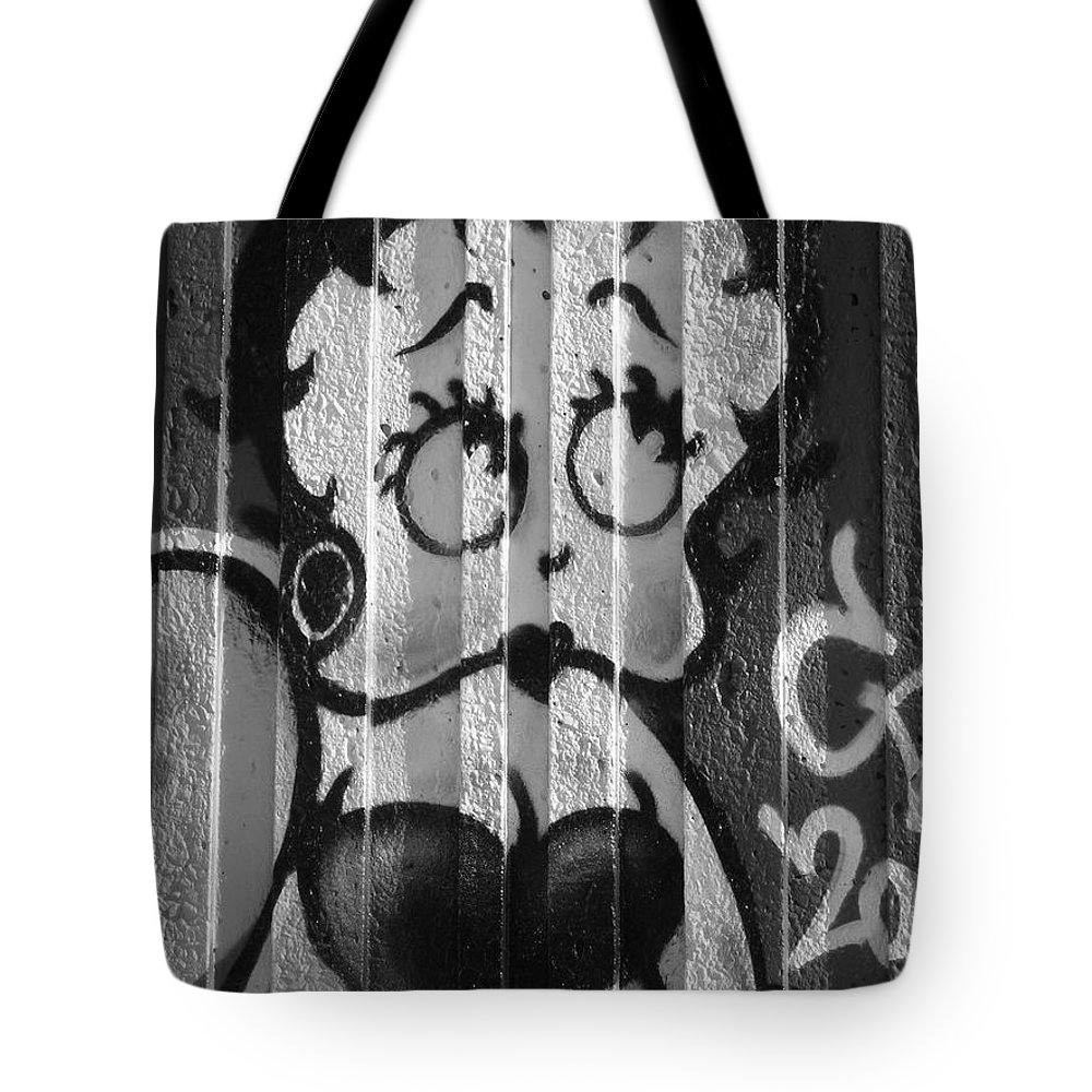 Betty Tote Bag featuring the photograph Betty Boop ... by Juergen Weiss