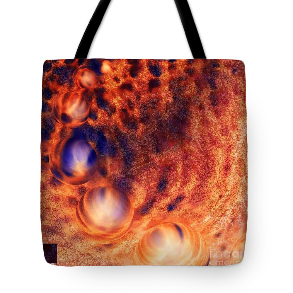 Colorful Tote Bag featuring the photograph Beyond The Friction by Dale Crum