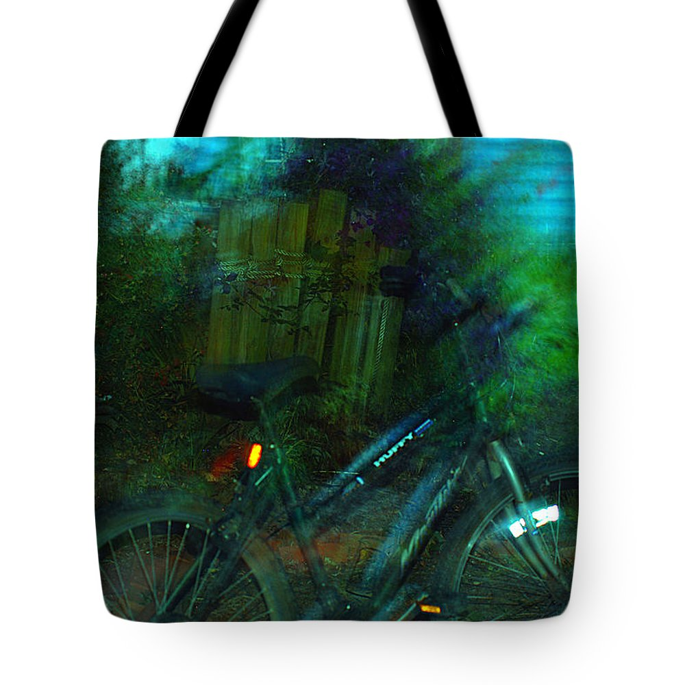 Clay Tote Bag featuring the photograph Bicycle by Clayton Bruster