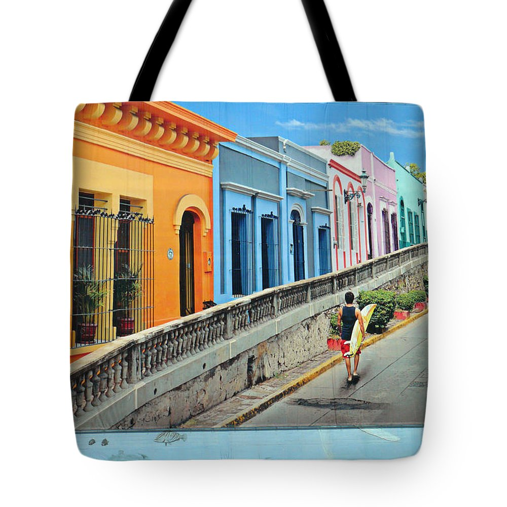 Tote Bag featuring the photograph Big Ad by Ross Odom