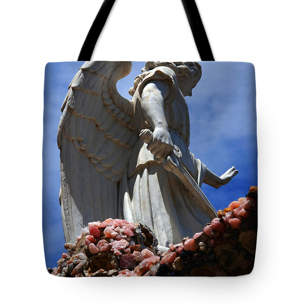 Angel Tote Bag featuring the photograph Big Angel Wings by Susanne Van Hulst