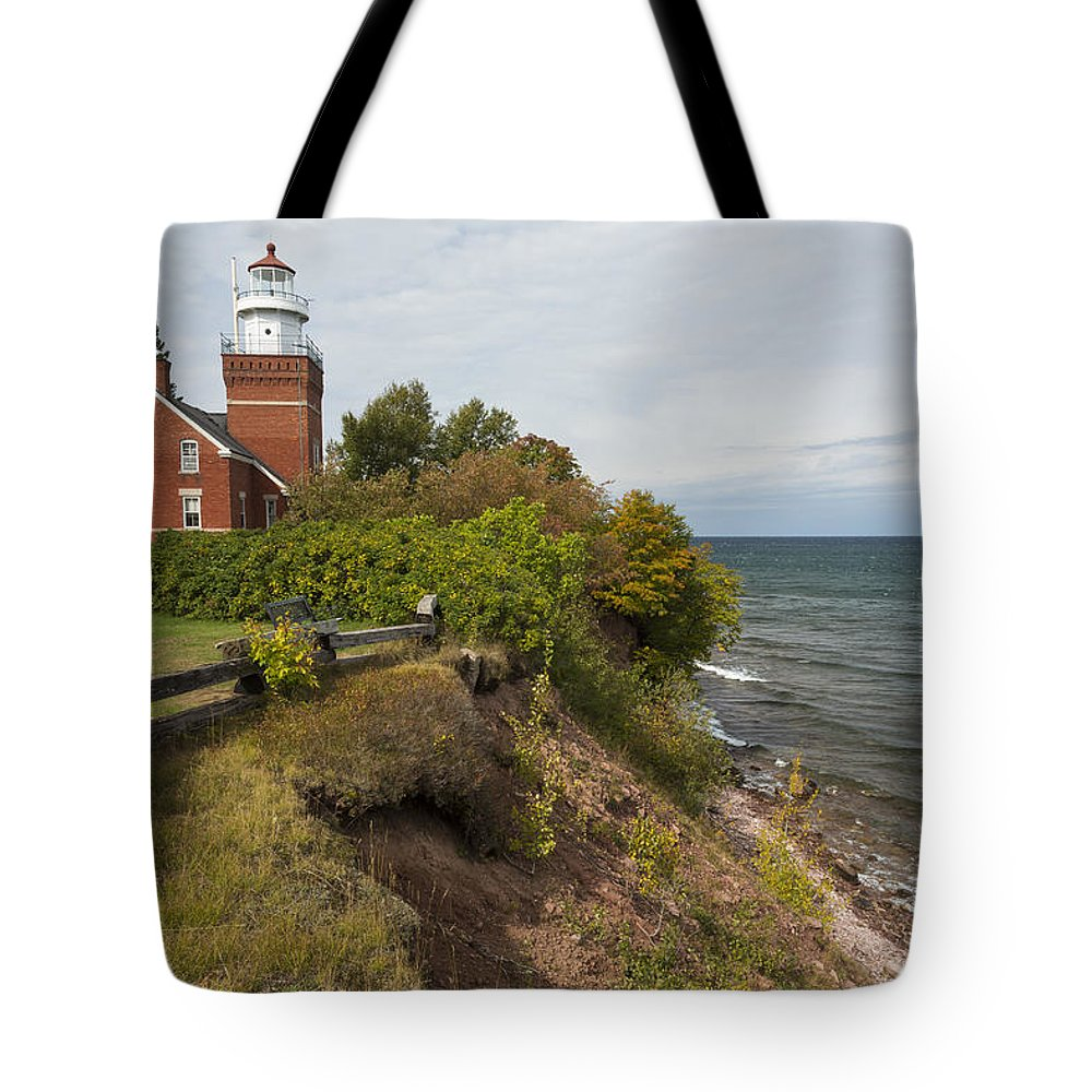 Big Tote Bag featuring the photograph Big Bay Point Lighthouse 2 by John Brueske