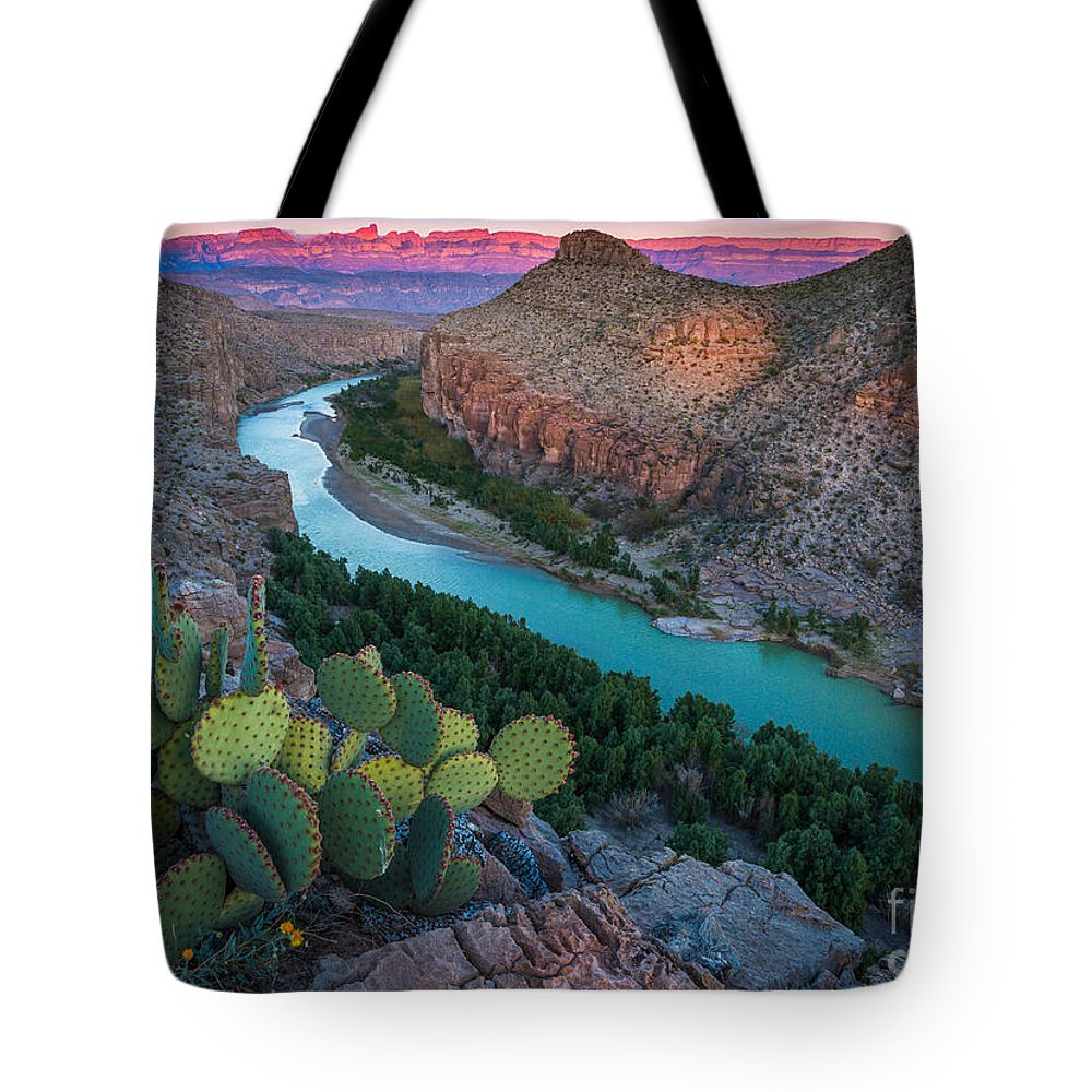 America Tote Bag featuring the photograph Big Bend Evening by Inge Johnsson