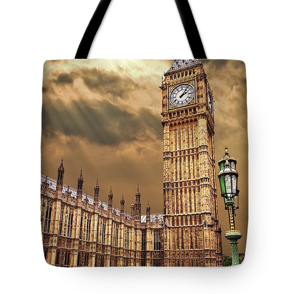 Tower Of London Tote Bags