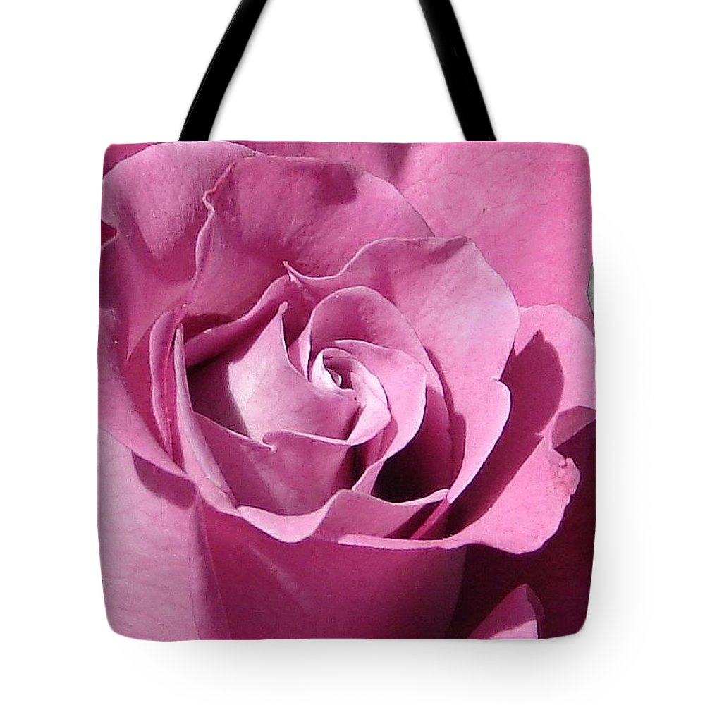 Rose Pink Tote Bag featuring the photograph Big Pink by Luciana Seymour