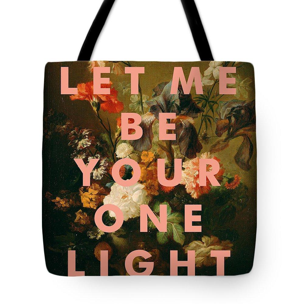 Art & Collectibles Tote Bag featuring the digital art Big Star Lyrics Print by Georgia Fowler