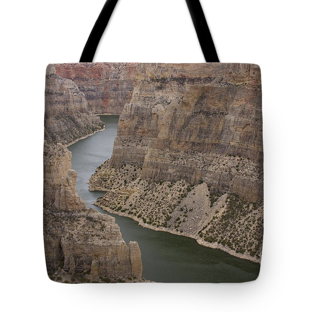 Canyon Tote Bag featuring the photograph Bighorn Canyon by Idaho Scenic Images Linda Lantzy