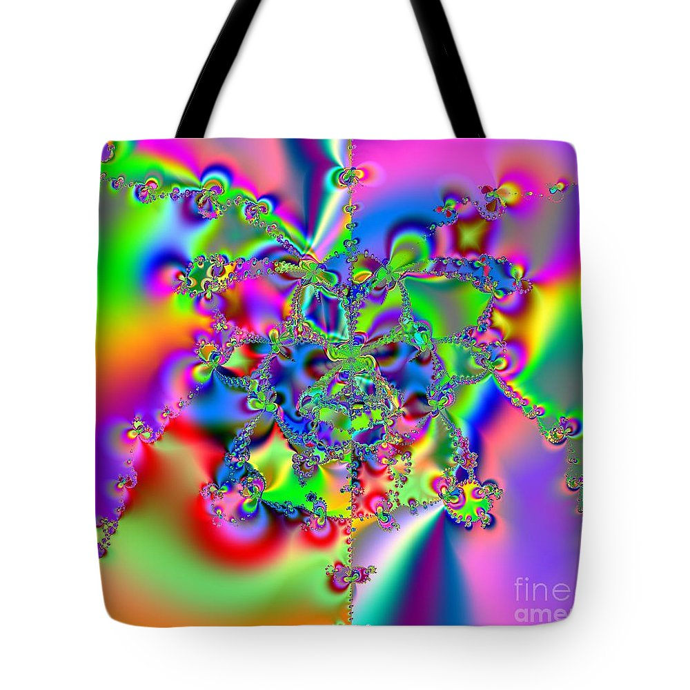 Keri West Tote Bag featuring the photograph Biochords by Keri West