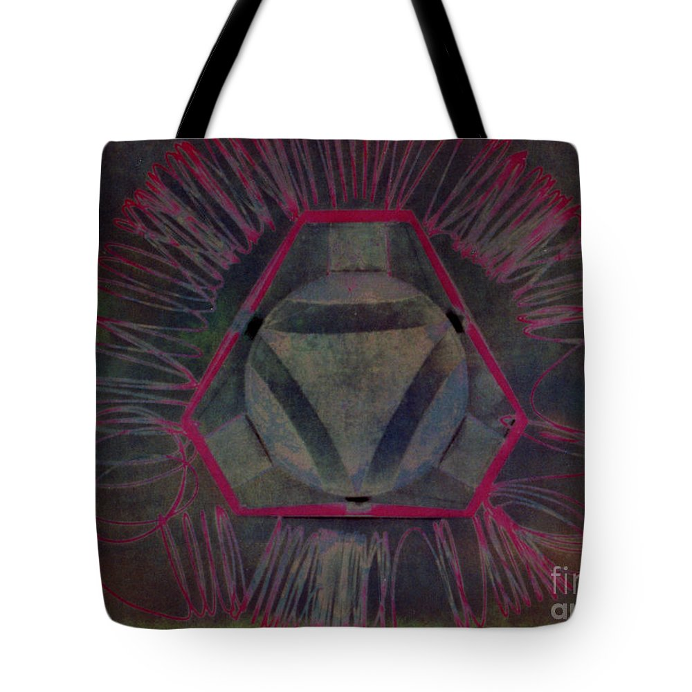 Biohazard Tote Bag featuring the photograph Biohazard by Anudai