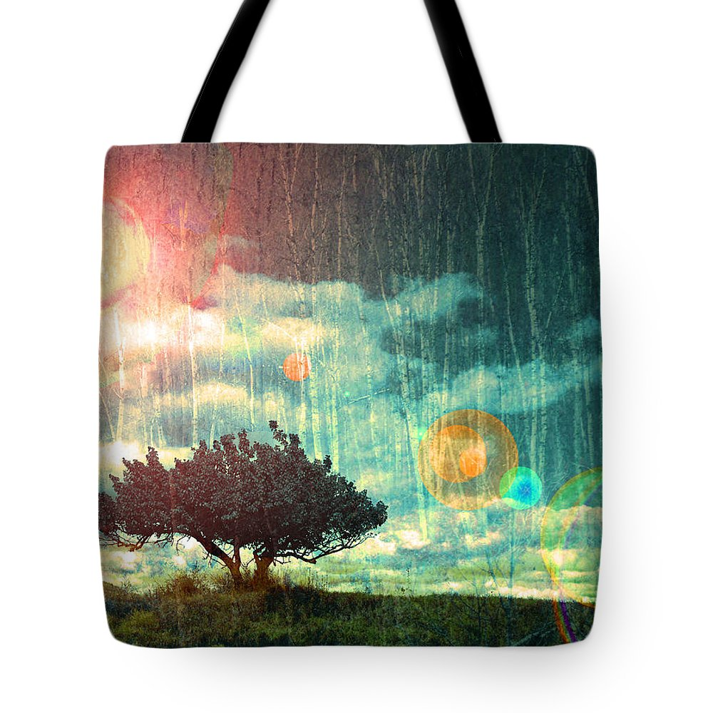 Light Tote Bag featuring the photograph Birch Dreams by Tara Turner