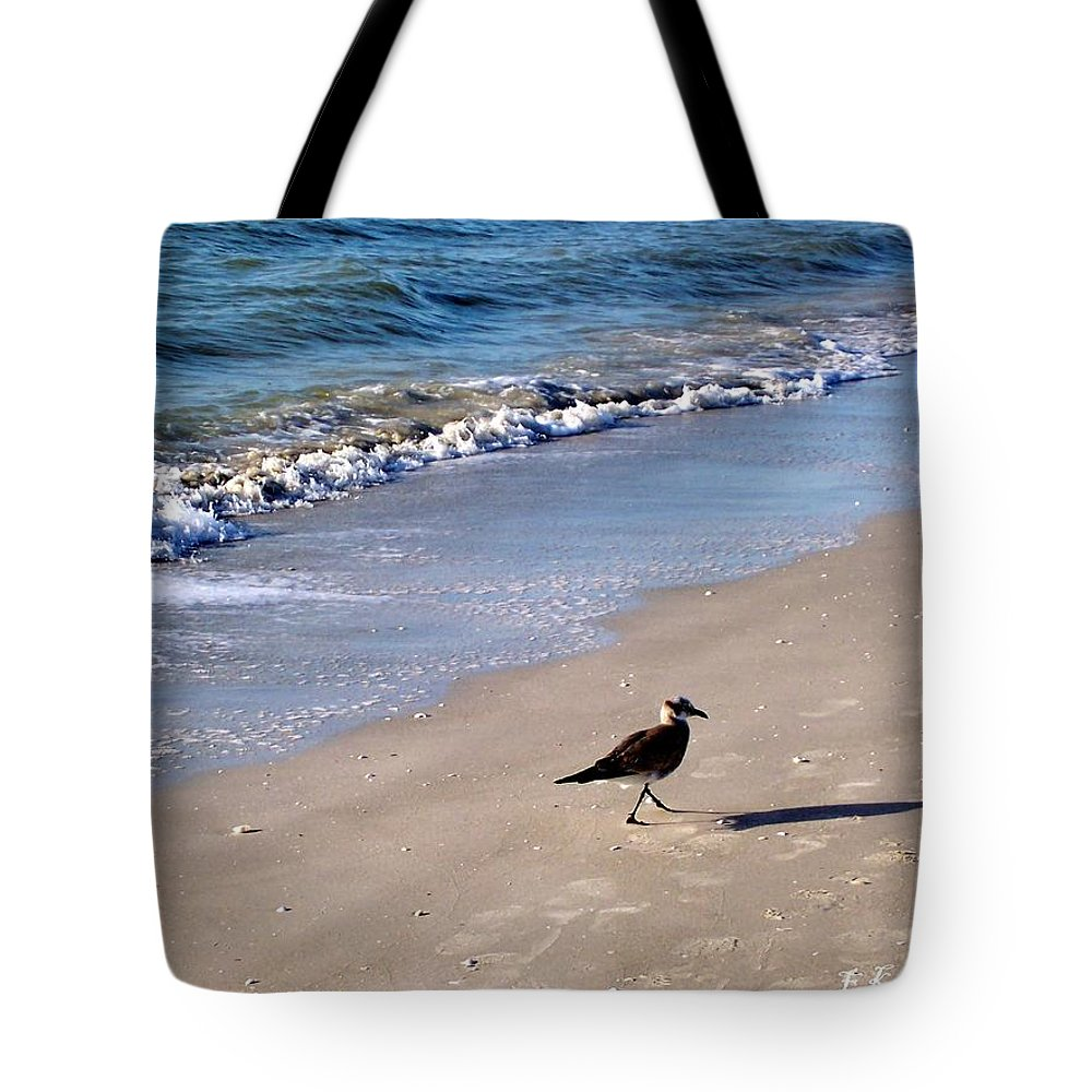 Beach Tote Bag featuring the photograph Bird 2009 by Elizabeth Klecker