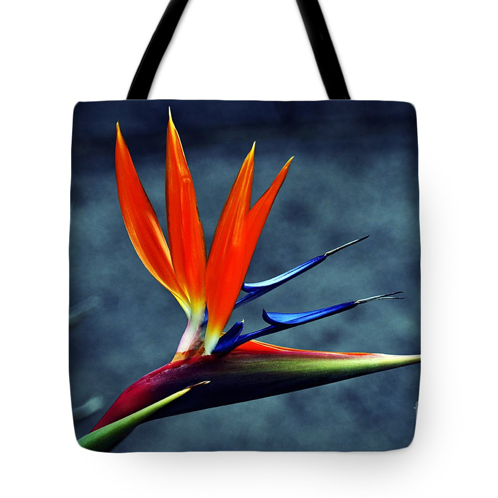 Clay Tote Bag featuring the photograph Bird Of Paradise by Clayton Bruster
