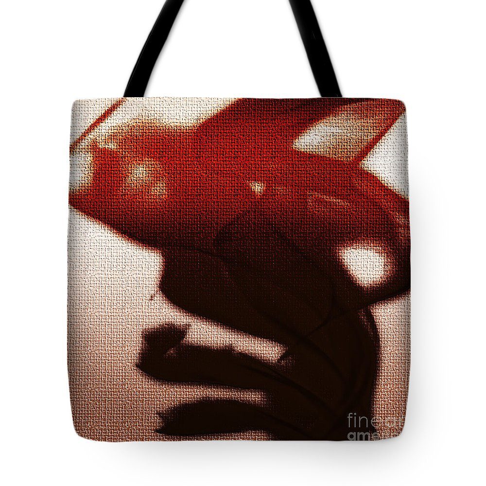Clay Tote Bag featuring the digital art Birth Of A Dark Spirit by Clayton Bruster