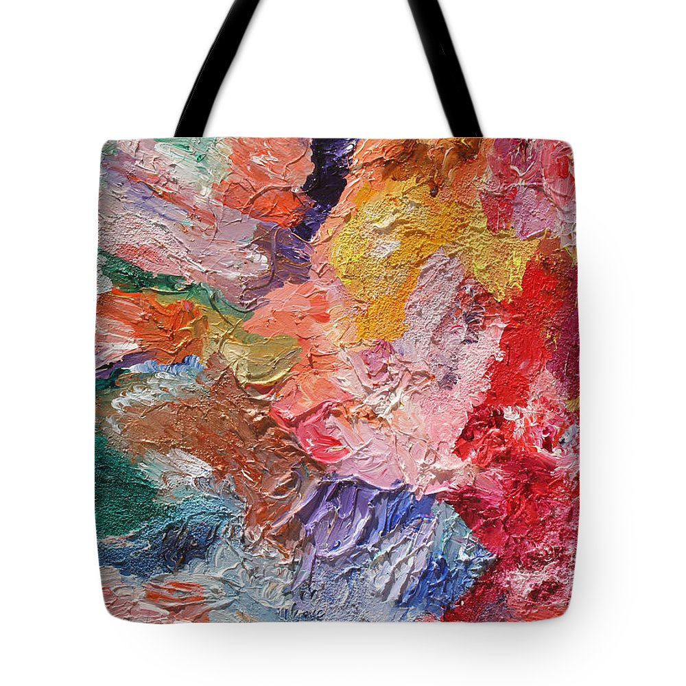 Fusionart Tote Bag featuring the painting Birth Of Passion by Ralph White