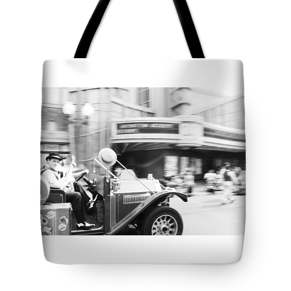 Summer Tote Bag featuring the photograph Black and White by Melisa Liu