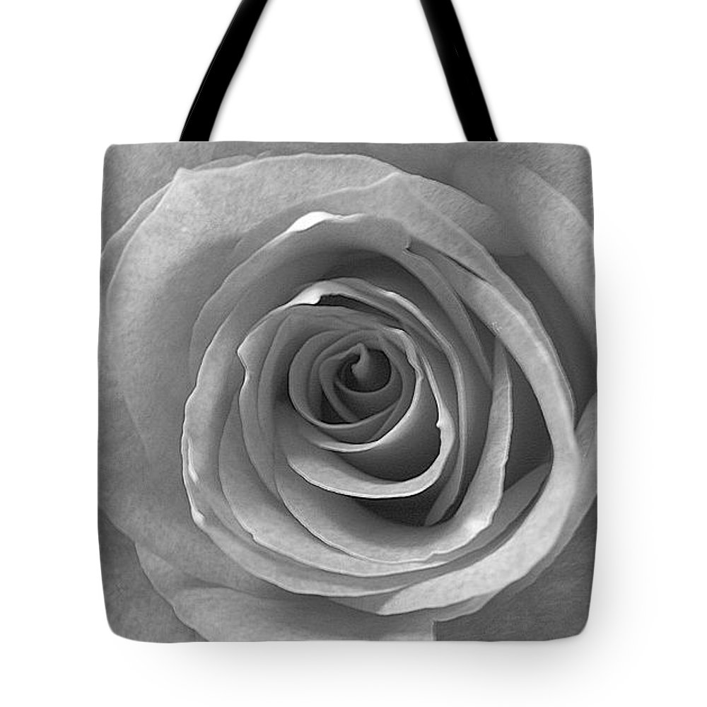 Rose Pedals Tote Bag featuring the photograph Black And White by Luciana Seymour