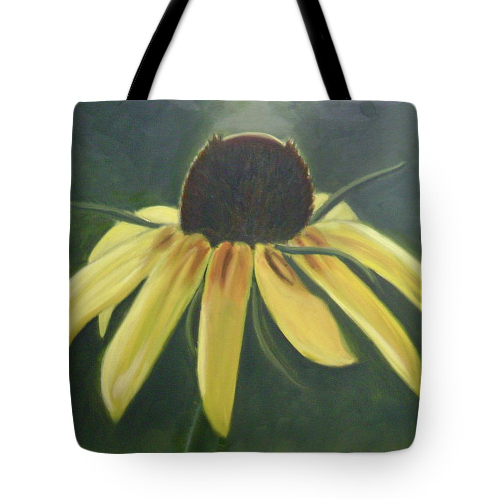 Flower Tote Bag featuring the painting Black Eyed Susan by Toni Berry