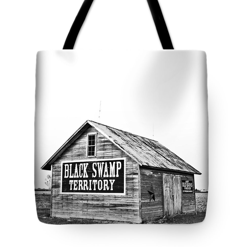 Architecture Tote Bag featuring the photograph Black Swamp Territory by Andrew Weills
