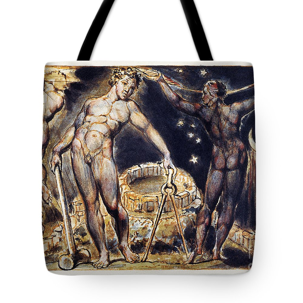 1804 Tote Bag featuring the photograph Blake: Jerusalem, 1804 by Granger
