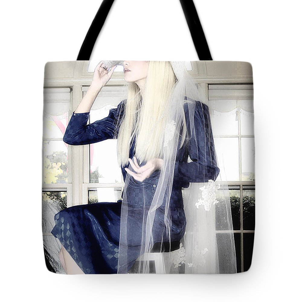 Clay Tote Bag featuring the photograph Blanco Beauty by Clayton Bruster
