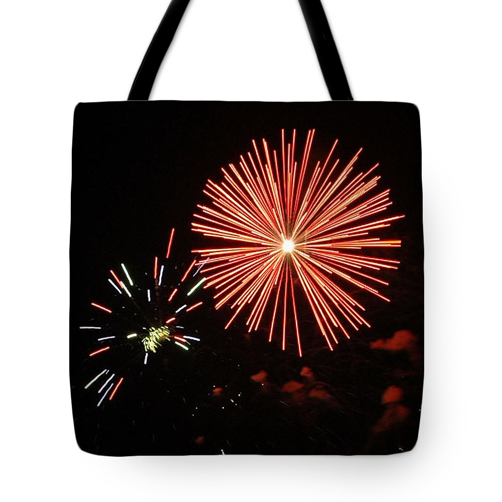 California Scenes Tote Bag featuring the photograph Blast And A Half by Norman Andrus