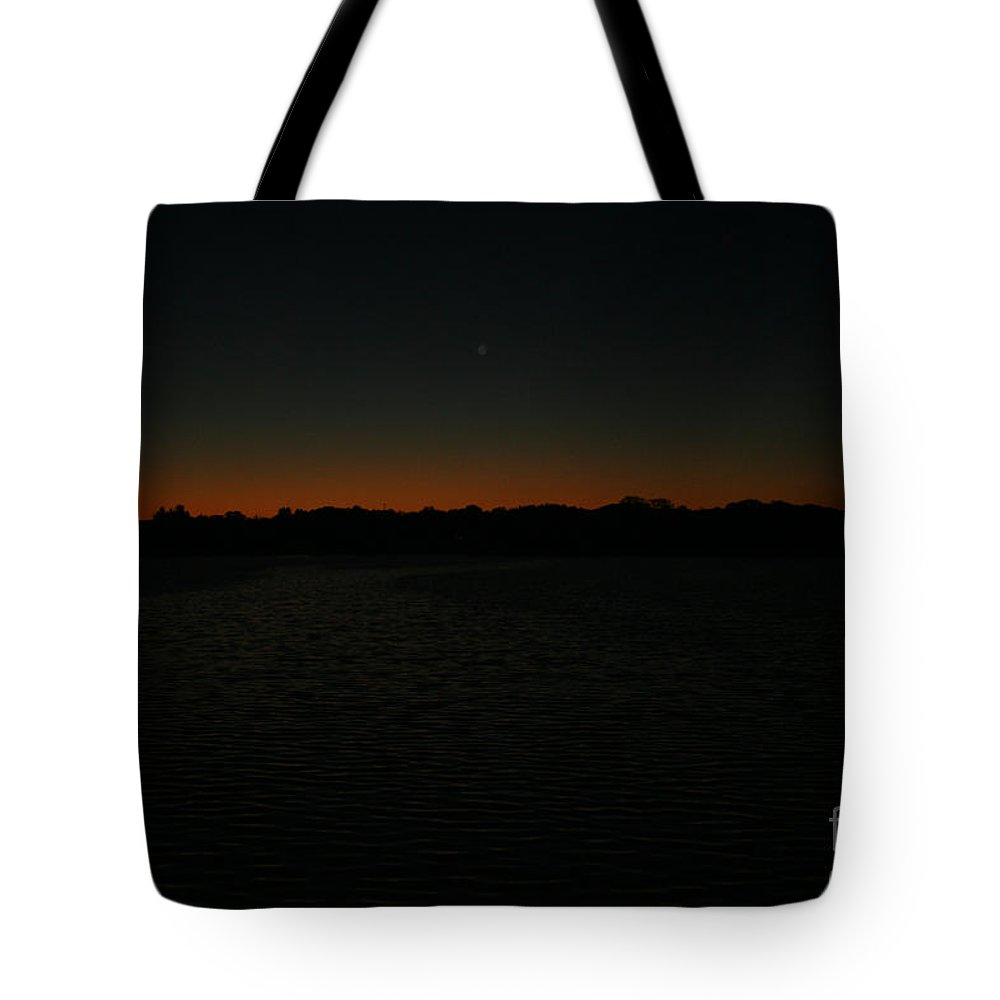 Sunset Tote Bag featuring the photograph Blazing by Jamie Lynn