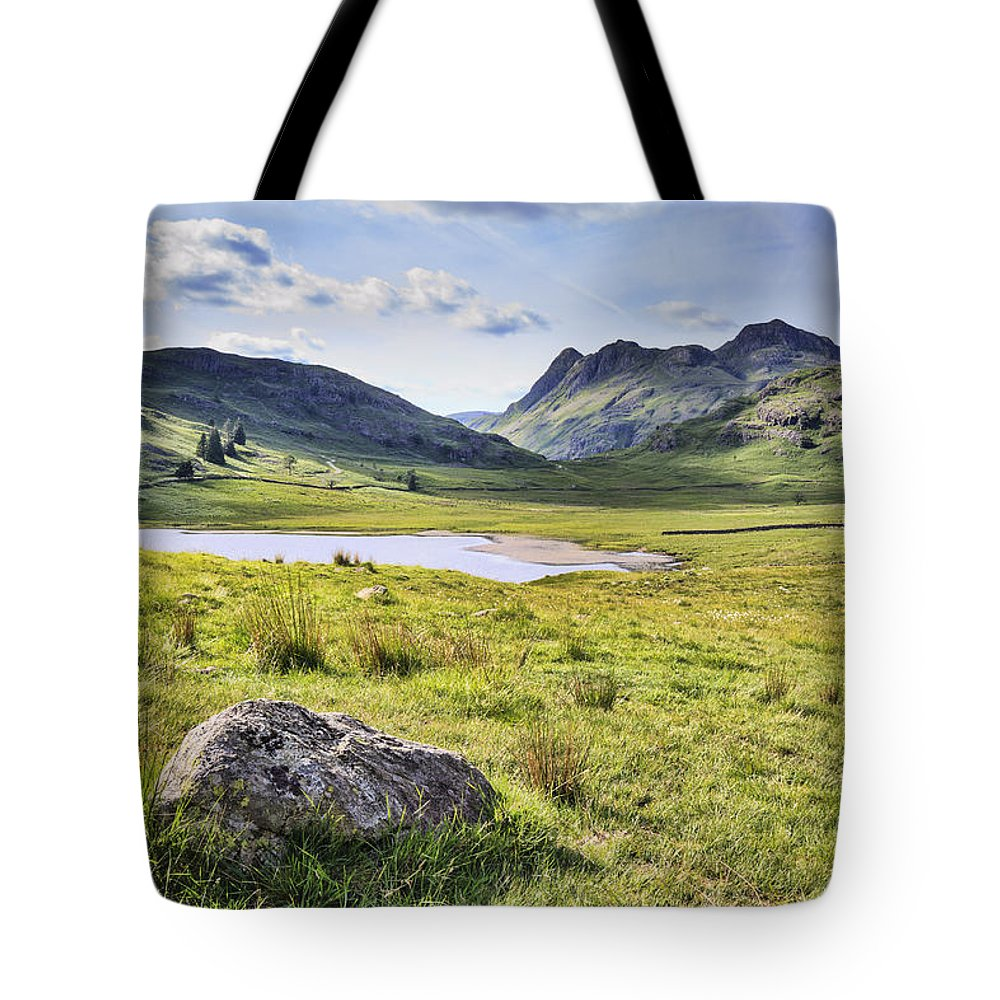 Altitude Tote Bag featuring the photograph Blea Tarn by Chris Smith