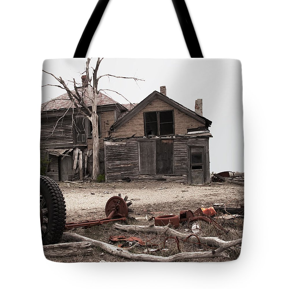 House Tote Bag featuring the photograph Bleak House by Grant Groberg