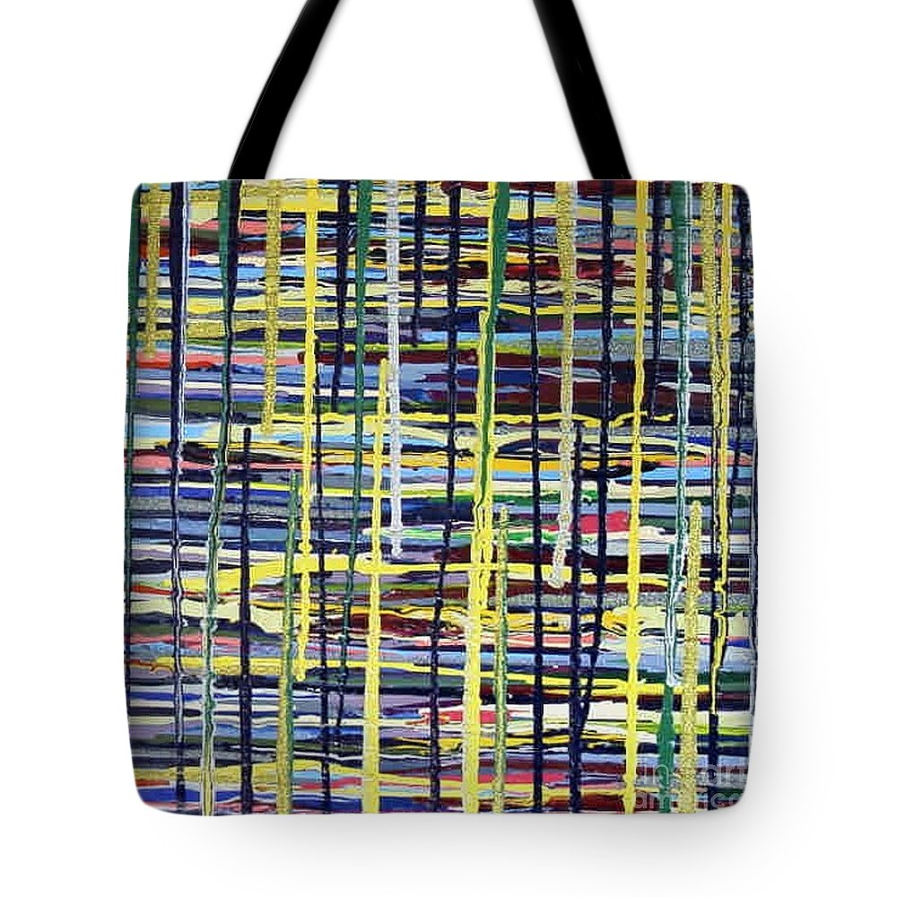 Blonde Tote Bag featuring the painting Blonde by Dawn Hough Sebaugh