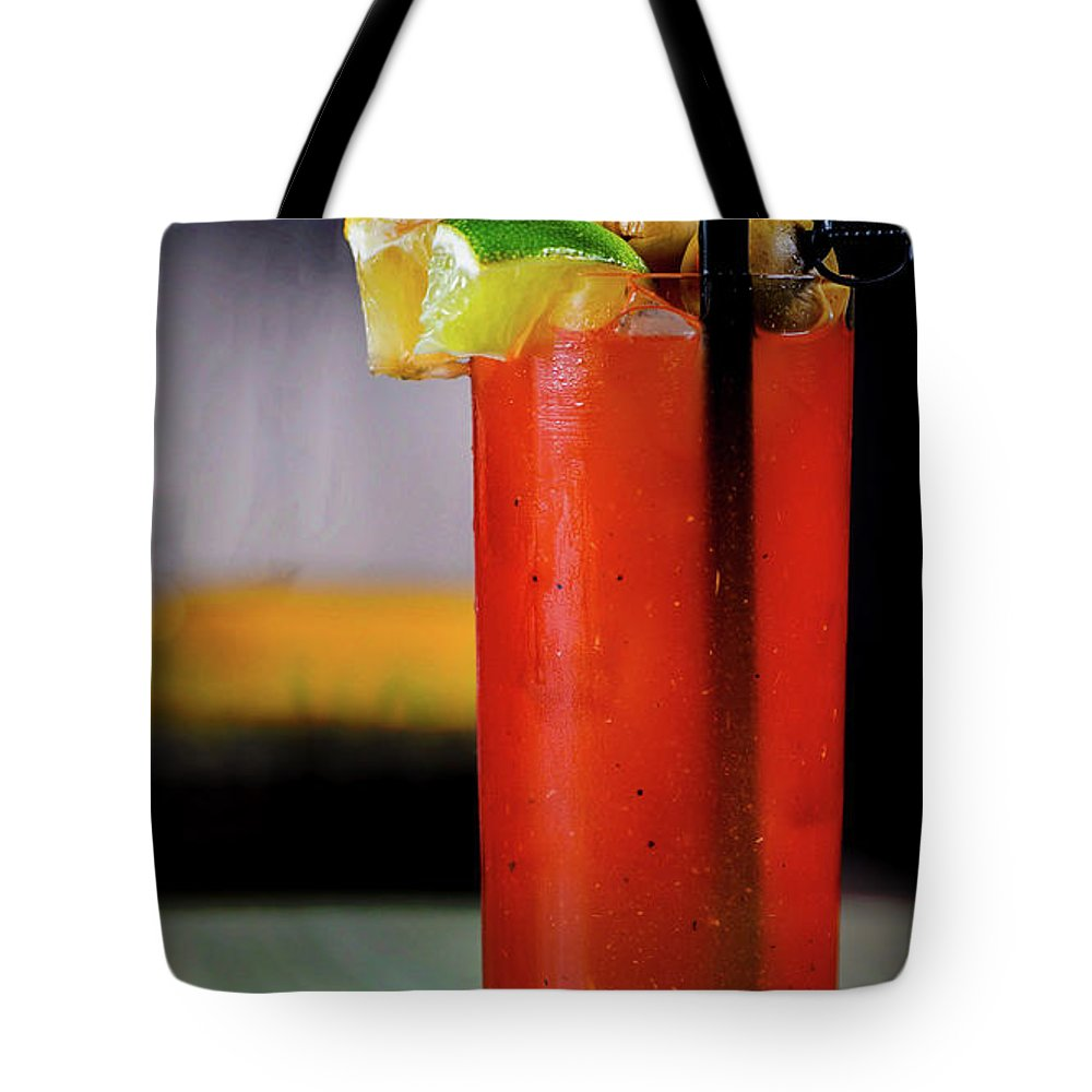 Bloody Mary Tote Bag featuring the photograph Bloody Mary by Ryan Smith