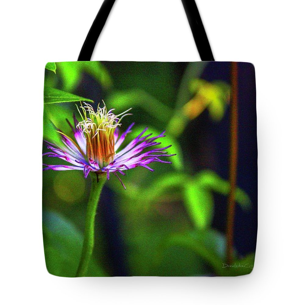 Bloom Tote Bag featuring the photograph Bloom N Bud by Diane Lindon Coy