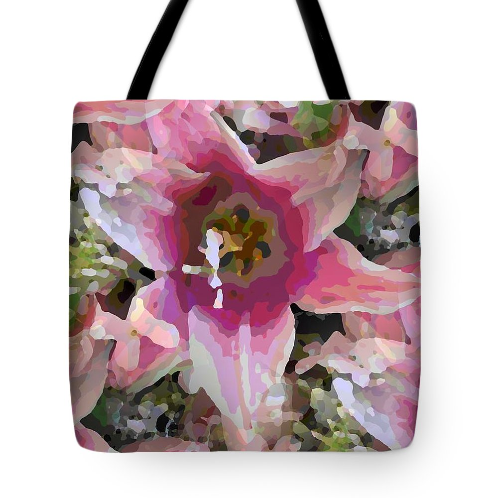 Tote Bag featuring the digital art Blooming Beauty by Tim Allen