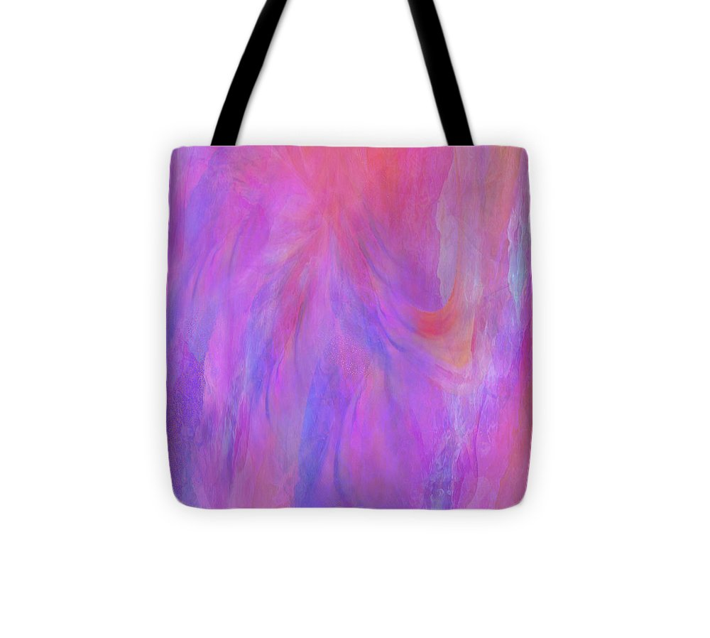 Digital Art Tote Bag featuring the digital art Blossom by Linda Murphy