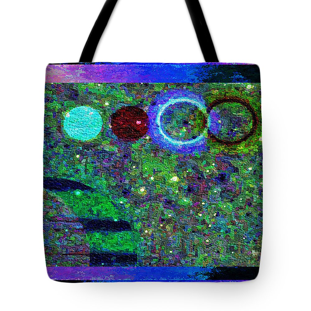 Nonviolence Tote Bag featuring the mixed media Blossoms Of Nonviolent Conflict Resolution by Aberjhani