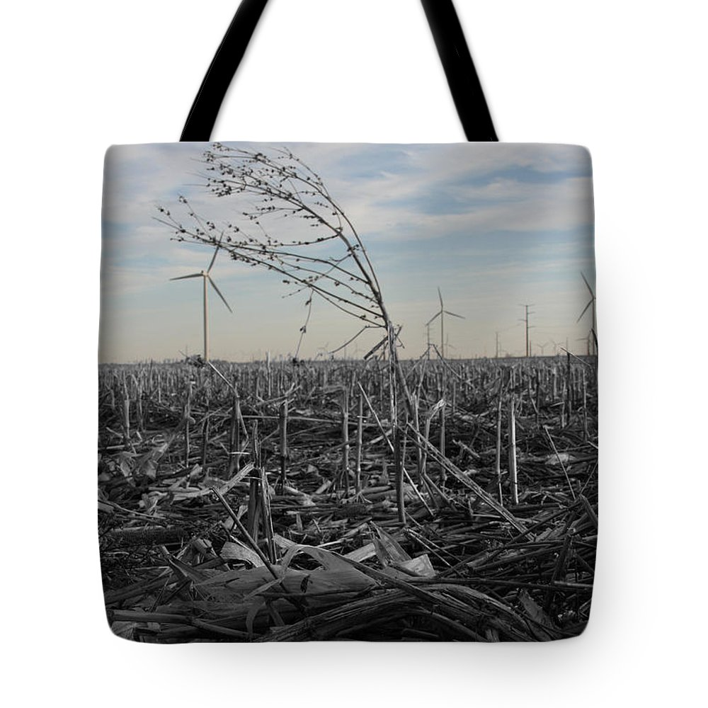Color Desaturation Tote Bag featuring the photograph Blow With The Wind by Dylan Punke