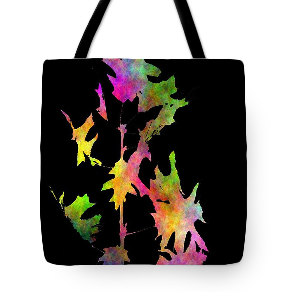 Fall Tote Bag featuring the digital art Blowin In The Wind 4 by Tim Allen