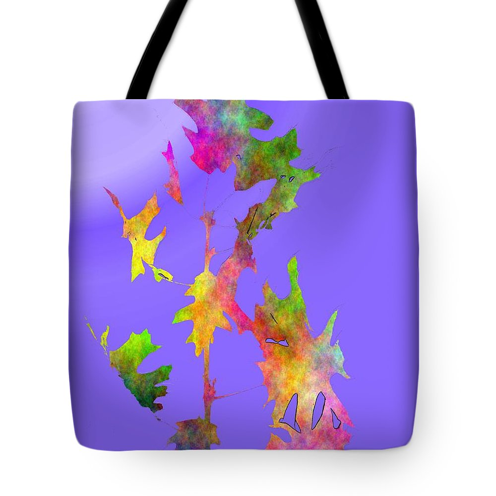 Fall Tote Bag featuring the digital art Blowin In The Wind 7 by Tim Allen