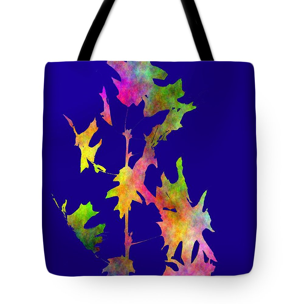 Fall Tote Bag featuring the digital art Blowin In The Wind 8 by Tim Allen