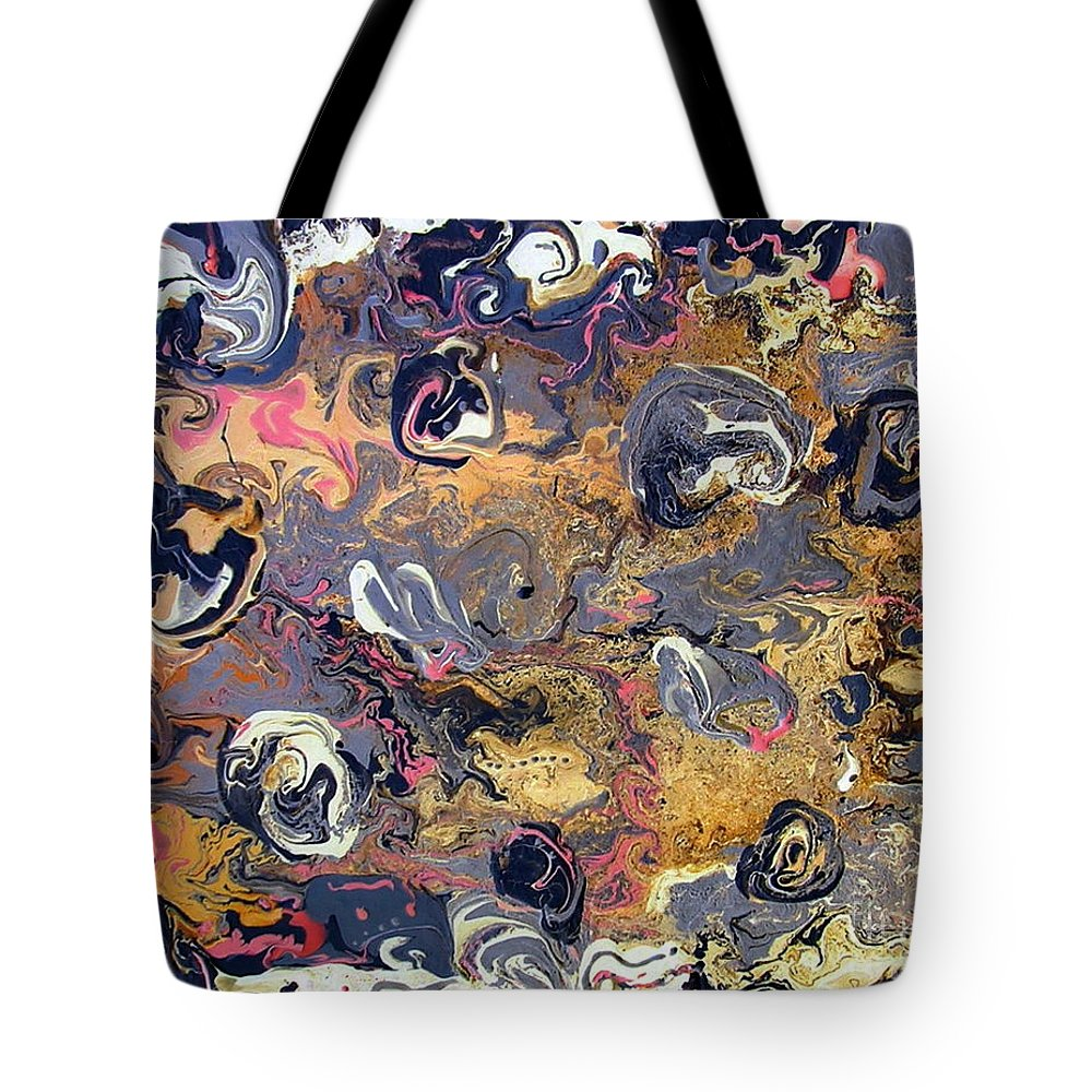 Blowing Winds Tote Bag featuring the painting Blowing Winds by Dawn Hough Sebaugh