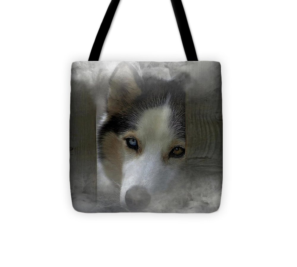 Blue And Brown Tote Bag featuring the photograph Blue And Brown by Adam Orzechowski