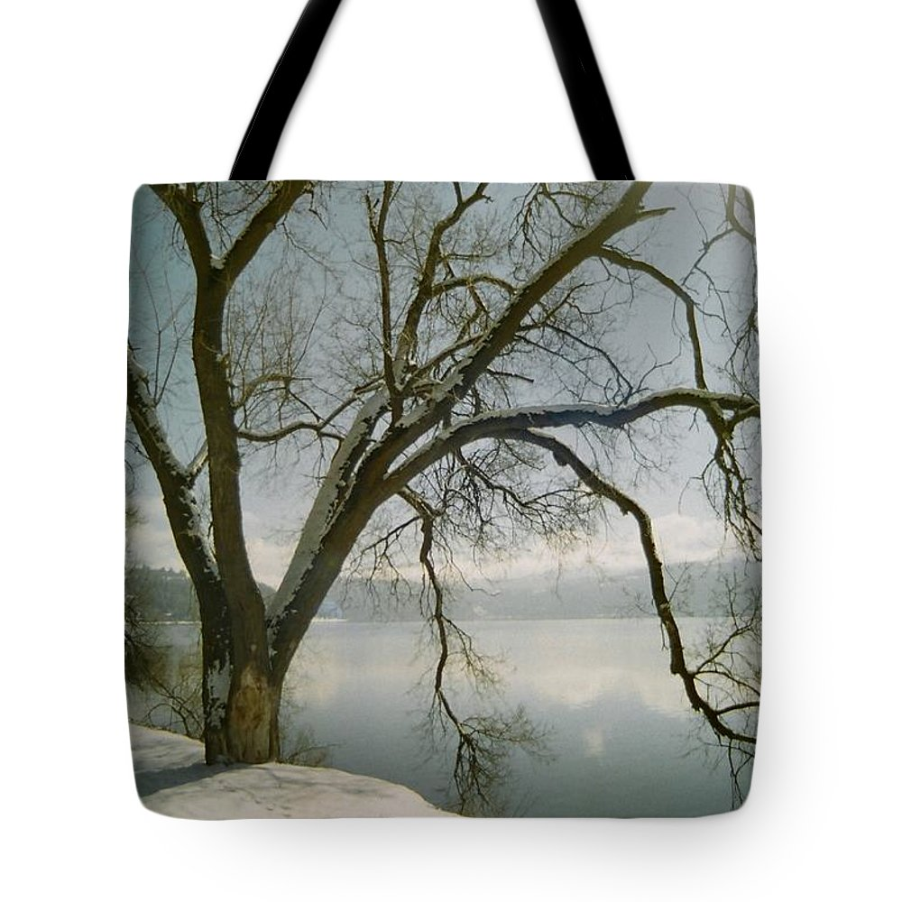 Blue Tote Bag featuring the photograph Blue Dream by Idaho Scenic Images Linda Lantzy